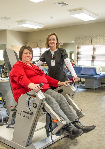 Albertville Health & Rehab Therapy Equipment