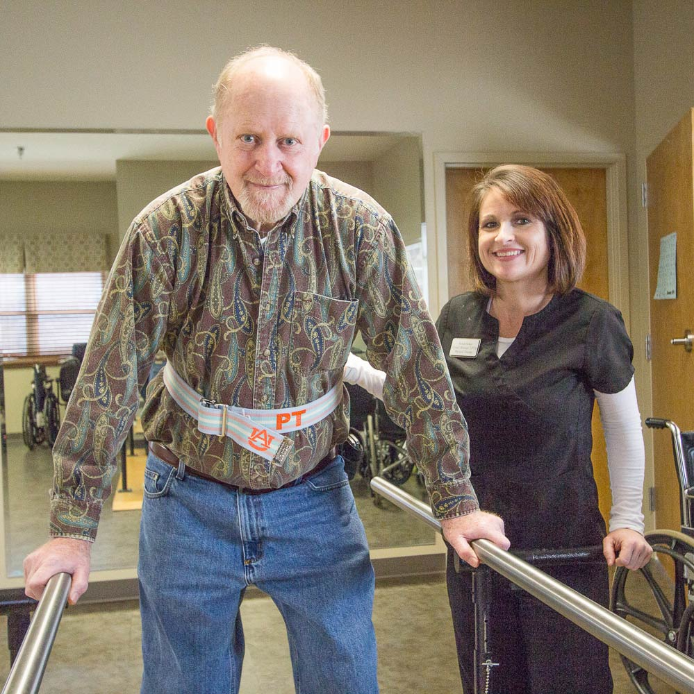 Albertville Health & Rehab Parallel Bars