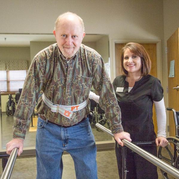 Albertville Health & Rehab Parallel Bars