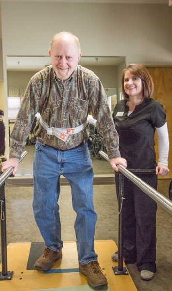 Albertville Health & Rehab Patient Parallel Bars