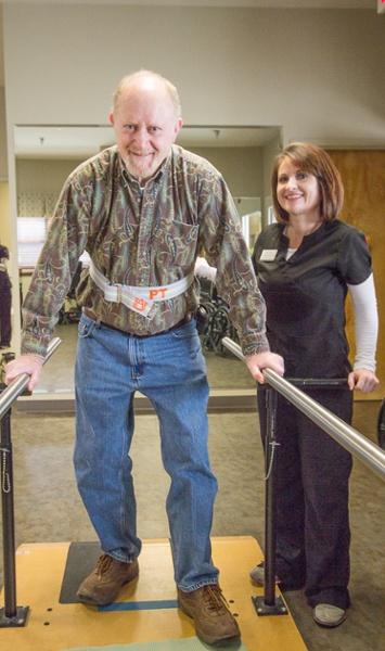 Albertville Health & Rehab Patient Parallel Bars