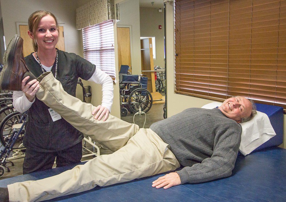 Albertville Health & Rehab Stretching