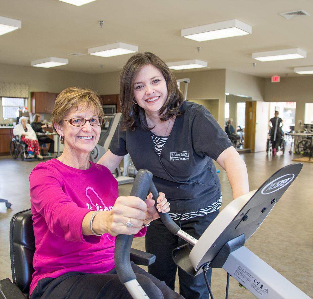 Albertville Health & Rehab Exercise
