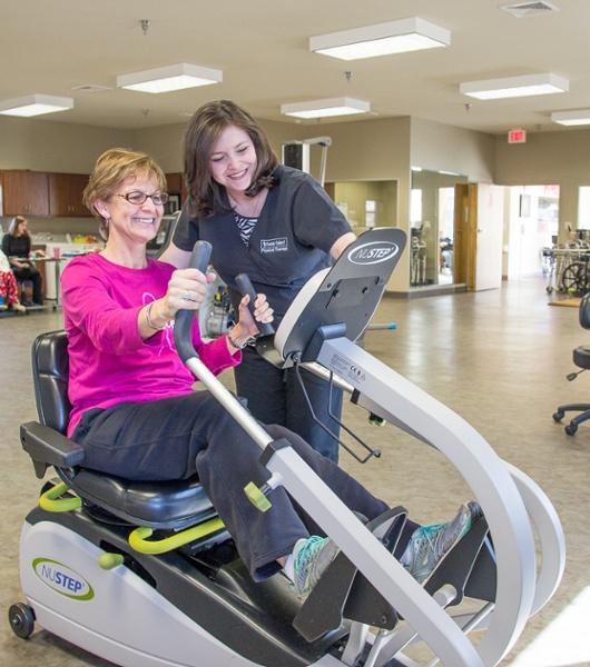 Albertville Health & Rehab Patient Exercise 2
