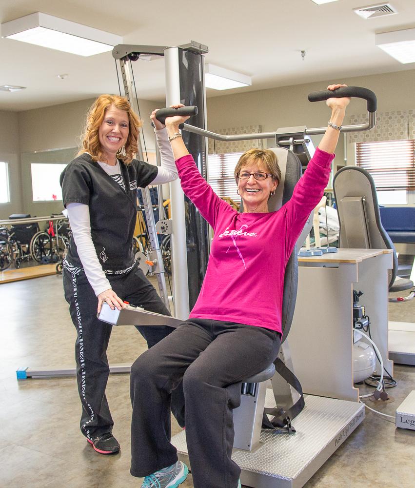 Albertville Health & Rehab Happy Patient
